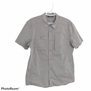 ARC'TERYX button down Sleeveless shirt size Medium see Description ⤵️
